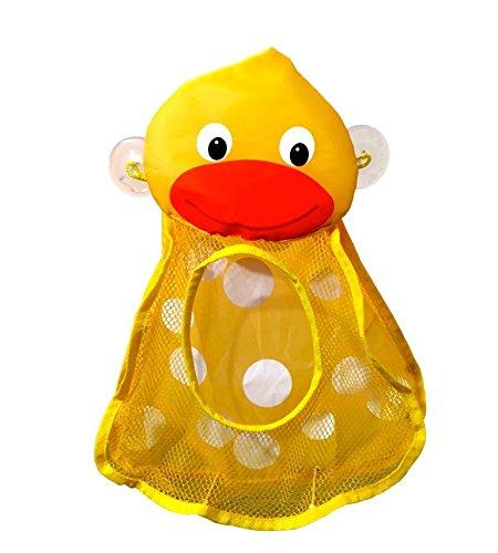Organizador Juguetes Baño:caliente mamá pato baño juguete Organizador bolsa para juguetes
