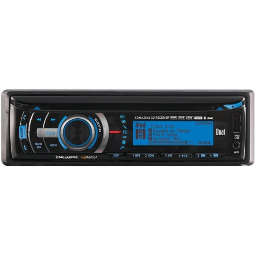 Dual Xdma6540 Am/Fm Cd Player With Mp3/Full Ipod/Iphone Control And Bluetooth