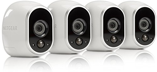 Arlo-Smart-Security-4-Add-on-HD-Security-Cameras-Base-Station-Not-Included-100-Wire-Free-IndoorOutdoor-with-Night-Vision-VMC3430