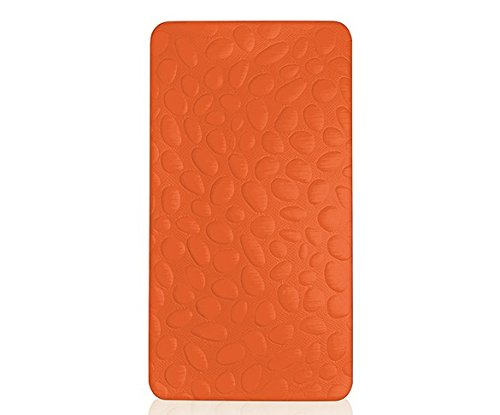 Big Save! Nook Pebble Pure Infant Crib Mattress, Poppy Orange