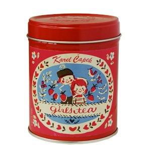 カレルチャペックガールズティー缶