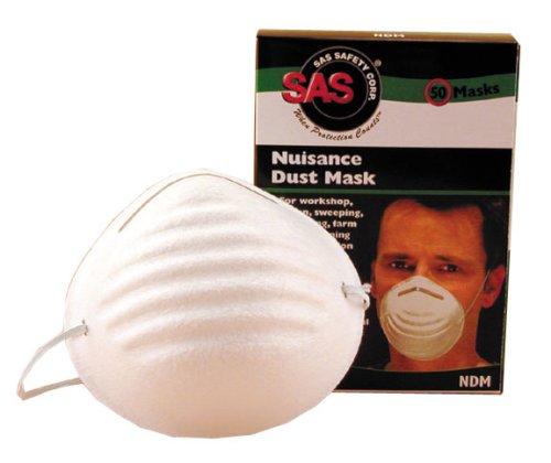 SAS Safety 2985 Non-Toxic Dust Mask Box of 50