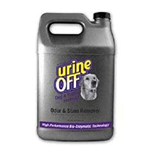 Urine Off Odor and Stain Remover Dog Formula, 1 Gallon from Urine Off