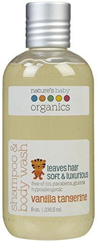 NBO Shampoo & Body Wash- Vanilla/Tangerine - 8 oz. - 1