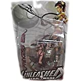Star Wars Unleashed Series 9 Action Figure Princess Leia New Package ~ Star Wars