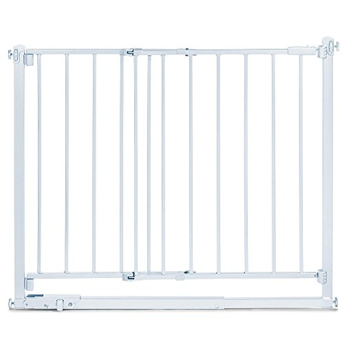 Summer Infant Step To Secure Metal Walk Thru Gate - White front-545556