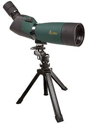ALPEN 20-60x80 w/45 degree EP, Waterproof Fogproof Spotting Scope