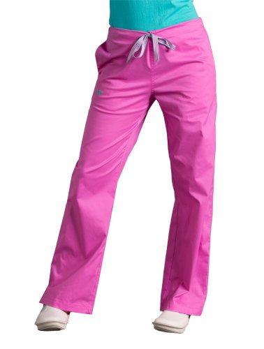 Med-Couture-Signature-Scrub-Pant-Bora-Bora-PinkAruba-Blue-Small-Tall