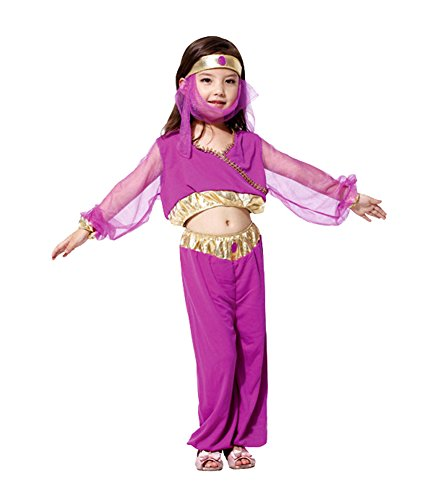 Ace Halloween Children's Kids Girls Arabian Princess Costumes