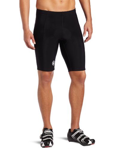 Buy Low Price Canari Cyclewear Men's Elite Padded Cycling Short (1038-BLACK)