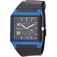 Sonata Ocean Analog Black Dial Men's Watch - NF7988PP03J