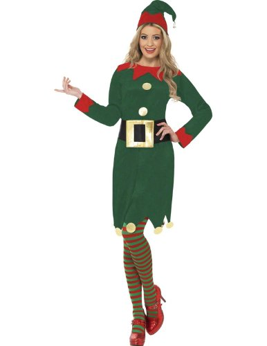 Ladies' Elf Halloween Costume