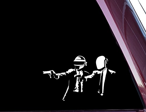 Daft Punk / Pulp Fiction Mashup - High Quality Precision-Cut Vinyl Decal (3.5