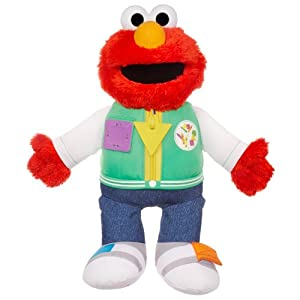 Playskool Sesame Street Steps to School Ready for School Elmo