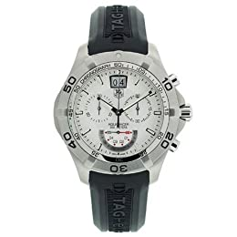 TAG Heuer Men s CAF101B FT8011 Aquaracer Grande Date Watch