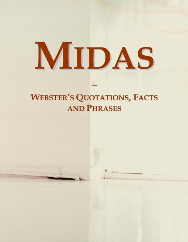 Midas: Webster's Quotations, Facts and Phrases