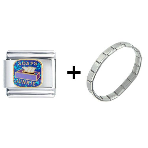 Soaps Junkie Italian Charm Bracelet