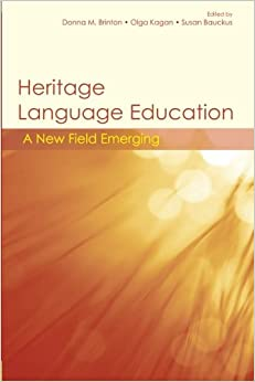 heritage language maintenance Drawing on two ethnographic studies on chinese immigrant families' home literacy practices, this chapter addresses the issue of heritage language (hl) loss and the.