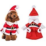 costume manteau chien pere noel 40cm scratch elastique. Black Bedroom Furniture Sets. Home Design Ideas