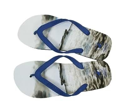 Jack & Jones Zehentrenner JJ Honduras JI ORG, Schuhe:42/43;Farbe:Bright Cobalt
