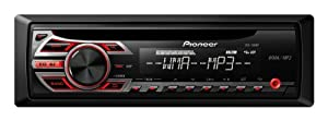 Pioneer DEH-150MP Single DIN Car Stereo With MP3 Playback from Pioneer