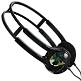 SKULLCANDY RECRUIT HEADPHONES EARPHONES 30mm BLACK - Retail packed