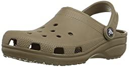 crocs Unisex Classic Clog,Khaki,10 US Men\'s / 12 US Women\'s