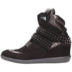 4US CESARE PACIOTTI GDD1B Sneakers Donna Pelle Nero