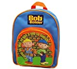 Bob the Builder Under Construction Backpack,front pocket,blue