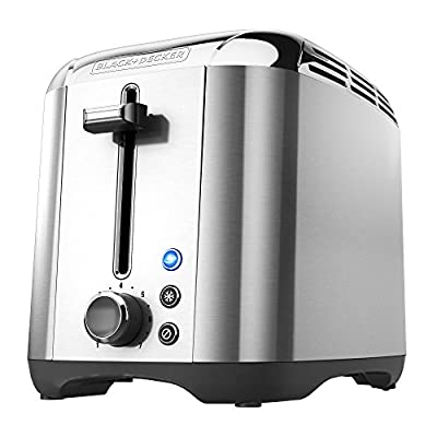 BLACK+DECKER TR3500SD Rapid Toast 2-Slice Toaster, Silver by Applica Incorporated/DBA Black and Decker