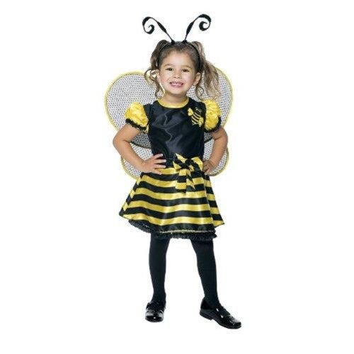 Bumble Bee Toddler Little Girls' Costume 2T