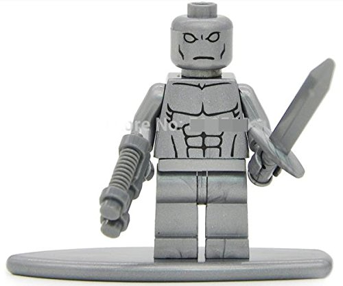 Silver Surfer Minifigures Fantastic Four Super Hero Single Sale Toy # ss168