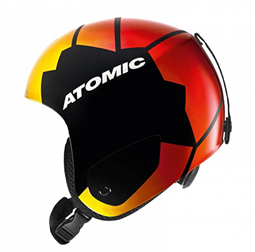 ATOMIC Skihelm Redster Marcel, Replica Mh Black, One size, AN5005188M