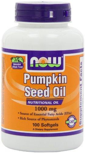 有预防前列腺癌, Now Foods诺奥 南瓜籽油胶囊100片仅$6.61