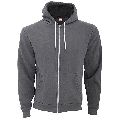 american-apparel-unisex-flex-plain-full-zip-fleece-hoodie-s-asphalt