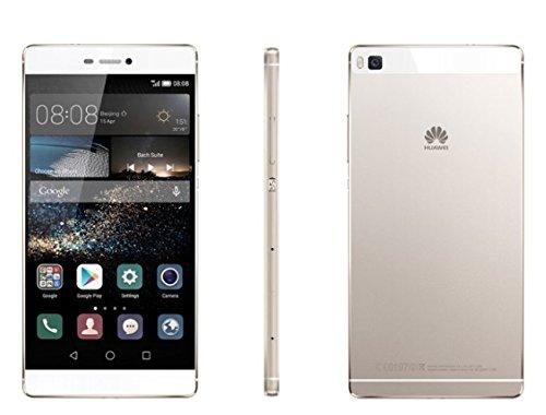 Huawei P8 lite Dual-SIM Smartphone (12,7 cm (5 Zoll) Touch-Display, 16 GB Speicher, Dual Sim, Android 5.0) weiß
