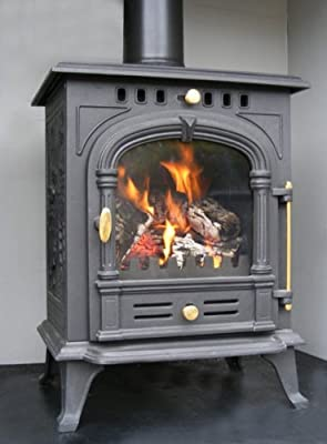 FIREGLOW 2 CAST IRON WOODBURNING MULTIFUEL STOVE 7.5kW HIGH EFFICIENCY
