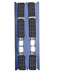 TieKart Monochrome Patterns Men's Belts-Suspenders