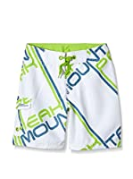 Peak Mountain Short de Baño Ecoumea (Blanco)