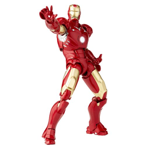 Kaiyodo Revoltech SERIES No.036 IRON MAN MARKIII special effects Figure