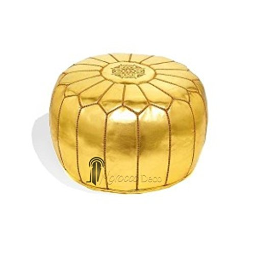 oro-de-rwe-diseno-marroqui-piel-sintetica-thaikissen-hecha-a-mano-con-reposapies-otomana