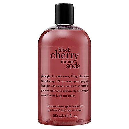Philosophy Black Cherry Italian Soda Shampoo Shower Gel