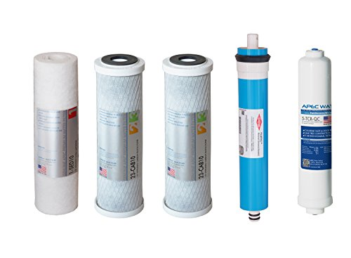 APEC Water Systems FILTER-MAX45 ULTIMATE Series 45 GPD Complete Replacement Filter (Ro Do Filter System compare prices)