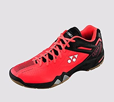Yonex Men's Power Cushion SHB-02 LTD Limited Edition Badminton Shoe-Bright Red by Yonex by Yonex