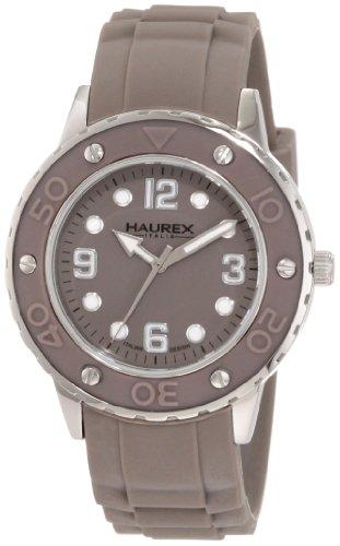 Haurex Italy Donna 1D371DGG Vivace Gray Dial Rubber Orologio