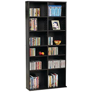 Atlantic 38435719 Oskar 464 Media Wall Unit P2 (Espresso P2 version)