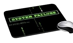 meSleep System Failure Mouse Pad