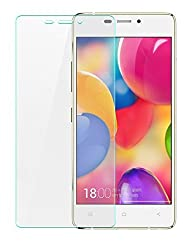 Heartly Imak 9H Hardness Anti Explosion 0.3mm Tempered Glass 2.5D Arc Edge Screen Guard Protector For Gionee Elife S5.1 GN9005