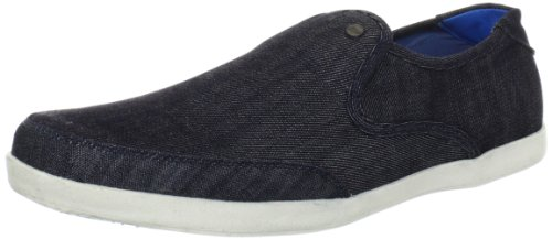 Steve Madden Men's Gindle Slip-On Sneaker,Blue Multi,7 M US