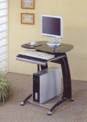 Buy Low Price Comfortable Small Black Computer Desk (B0017DQBZ2)